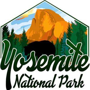 Yosemite National Park Decal Sticker