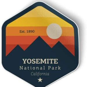 Yosemite Np Vinyl Sticker