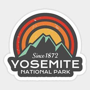 Yosemite Vintage Sticker