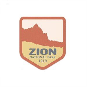 Zion Utah Sticker