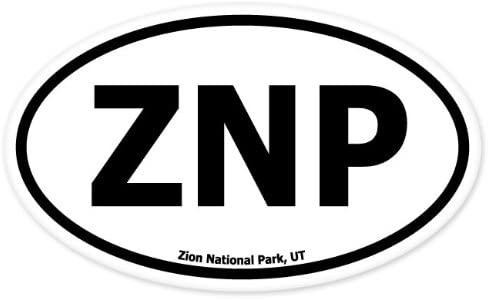 Znp Oval Sticker