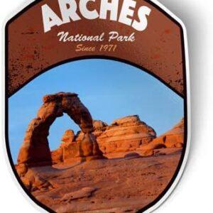 Arches National Park Utah Die Cut Sticker