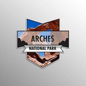 Arches National Park Vinyl Car Sticker