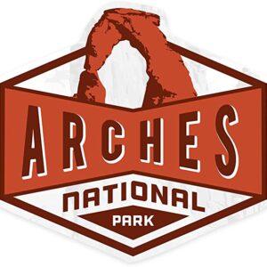 Arches National Sticker