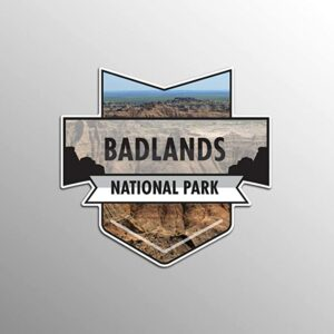 Badlands National Park Vinyl Rv Sticker