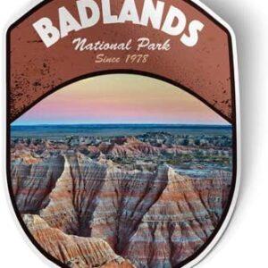 Badlands South Dakota Sticker