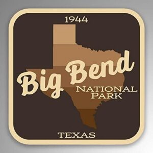 Big Bend National Park Gradient Sticker
