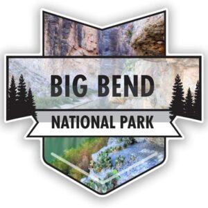 Big Bend National Park Texas Graphic Sticker