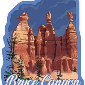 Bryce Canyon Hoodoos Sticker