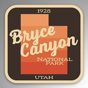 Bryce Canyon National Park Gradient Bumper Sticker