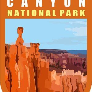 Bryce Canyon National Park Sticker Vinyl Shield Sticker