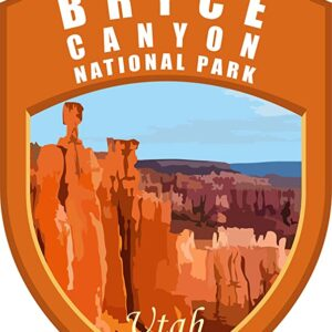 Bryce Canyon National Park Utah Window Sticker
