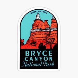 Bryce Canyon Utah Vintage Sticker