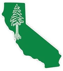 California Redwood Sticker