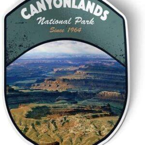 Canyonlands National Park Vinyl Decal