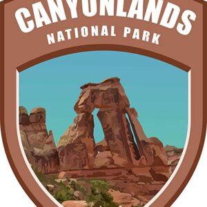 Canyonlands National Park Vinyl Shield Sticker
