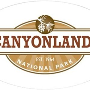 Canyonlands Utah Bumper Sticker