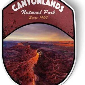 Canyonlands Utah Decal