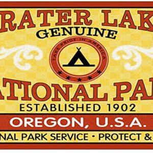 Crater Lake 1902 Sticker