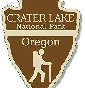 Crater Lake Arrowhead Sticker