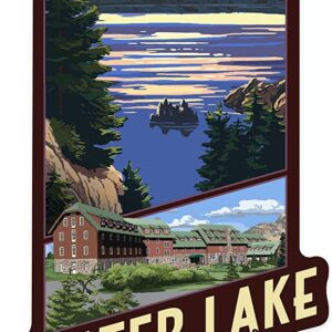 Crater Lake National Park Scenic Decal