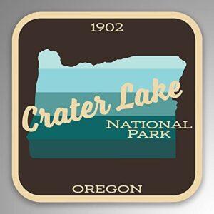 Crater Lake National Park Vinyl Decal