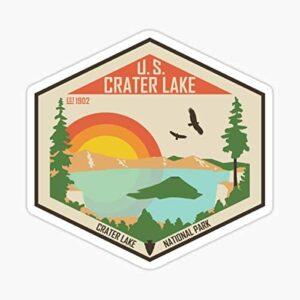 Crater Lake Oregon Window Decal