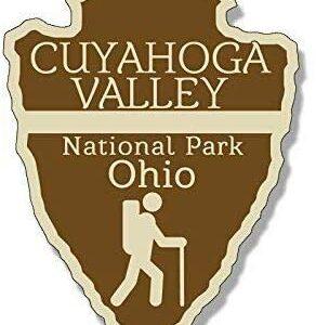 Cuyahoga Valley National Park Arrowhead Sticker