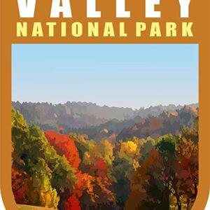 Cuyahoga Valley National Park Chevron Sticker