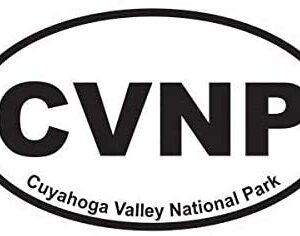Cuyahoga Valley National Park Oval Sticker