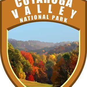 Cuyahoga Valley National Park Shield Sticker