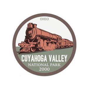Cuyahoga Valley National Park Train Sticker