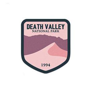 Death Valley Califirnia Pink Sticker