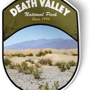 Death Valley California National Park Vinyl Decal