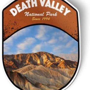 Death Valley California National Park Vinyl Sticker