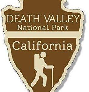 Death Valley National Park Arrowhead Sticker