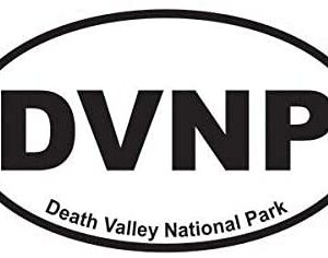 Death Valley National Park Oval Sticker Decal