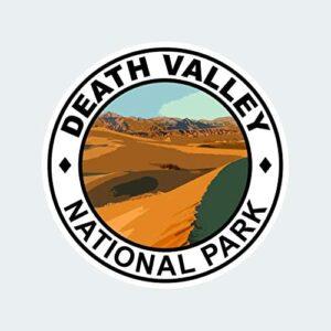 Death Valley National Park Round Sticker