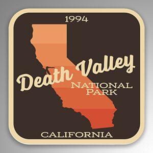 Death Valley National Park Vinyl Gradient Sticker