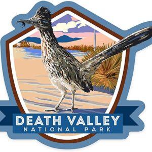Death Valley Roadrunner Decal