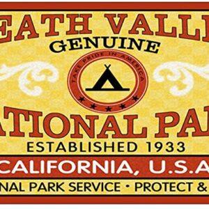 Death Valley Vinyl Bumper Sticker