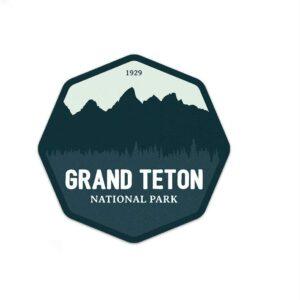 Grand Teton National Park Vinyl Sticker