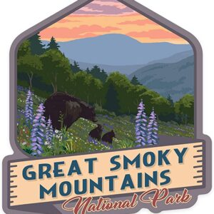 Great Smoky Mountains National Park Tennessee Sticker