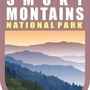 Great Smoky Mountains National Park Vinyl Chevron Sticker