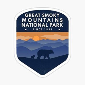 Great Smoky Mountains National Park Window Sticker