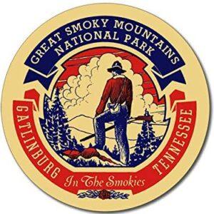 Hike Great Smoky Mountains National Park Sticker