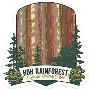 Hoh Rainforest Sticker