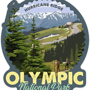 Hurricane Ridge Olympic National Park Vinyl Sticker