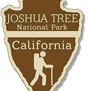 Joshua Tree National Park Arrowhead Sticker