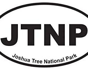 Joshua Tree National Park Oval Sticker Decal